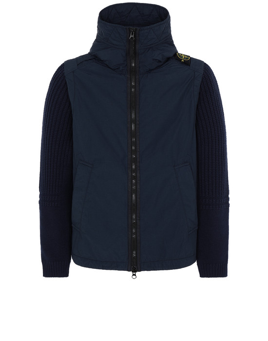 Jacket Man 43732 NASLAN LIGHT WATRO WITH PRIMALOFT®-TC Front STONE ISLAND
