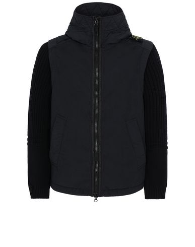 STONE ISLAND 43732 NASLAN LIGHT WATRO WITH PRIMALOFT®-TC 休闲夹克 男士 黑色 EUR 897