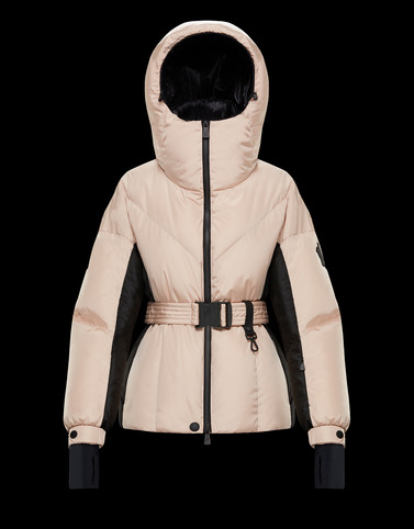 FRACHEY Blush Pink Ski jackets Woman