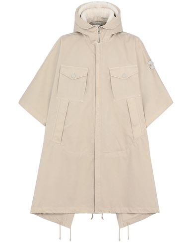 STONE ISLAND 717F1 RASO GOMMATO DOUBLE_GHOST PIECE CAPE Man Beige USD 1236