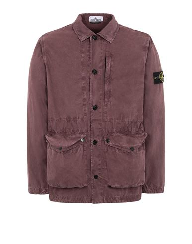 STONE ISLAND  439WN T.CO 'OLD' 	 Jacket Man Dark Burgundy EUR 519