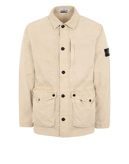 STONE ISLAND  439WN T.CO 'OLD' 	 Jacket Man Sand