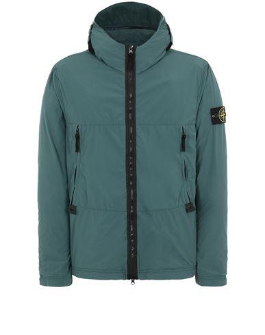 STONE ISLAND 40131 SKIN TOUCH NYLON-TC Jacket Man Dark Teal Green USD 463