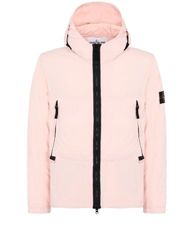 STONE ISLAND 40131 SKIN TOUCH NYLON-TC Jacket Man Pastel pink USD 622