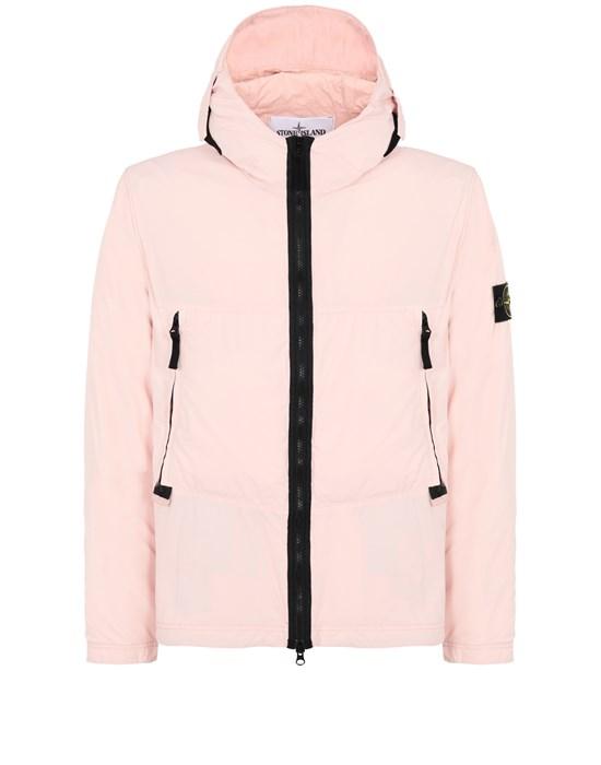 STONE ISLAND 40131 SKIN TOUCH NYLON-TC Jacket Man Pastel pink