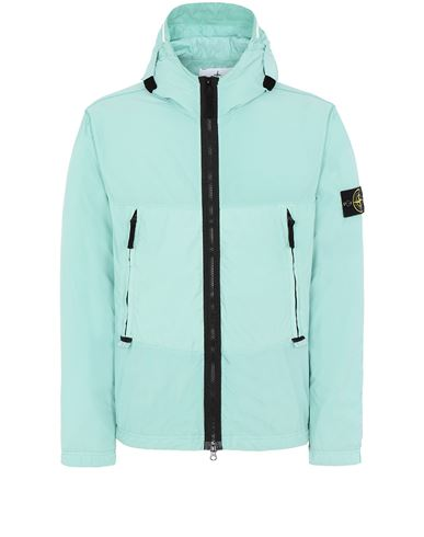 STONE ISLAND 40131 SKIN TOUCH NYLON-TC Jacket Man Aqua USD 463