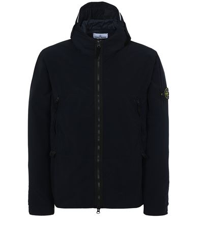 STONE ISLAND 40131 SKIN TOUCH NYLON-TC Jacket Man Blue USD 463