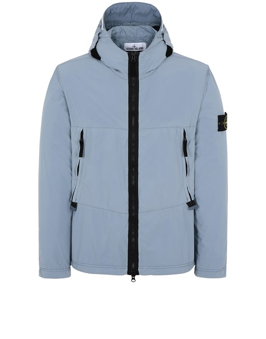 STONE ISLAND 40131 SKIN TOUCH NYLON-TC Jacket Man Pastel Blue