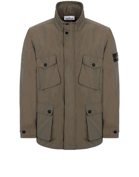 STONE ISLAND 40922 MICRO REPS  Jacket Man Olive Green