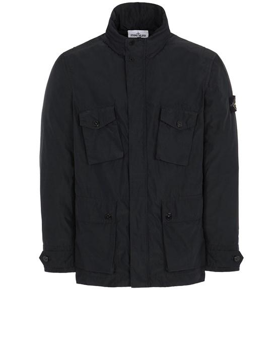 STONE ISLAND 40922 MICRO REPS  Jacket Man Black