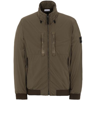 STONE ISLAND 42631 SKIN TOUCH NYLON-TC  Jacket Man Olive Green EUR 589