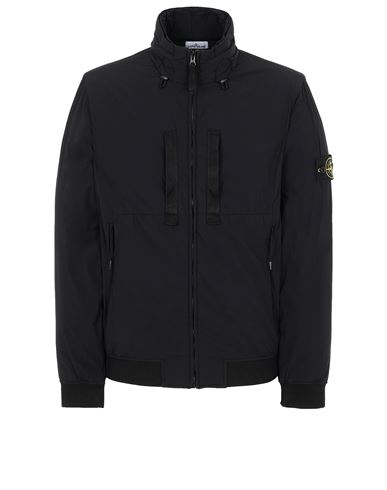 STONE ISLAND 42631 SKIN TOUCH NYLON-TC  Jacket Man Black EUR 589