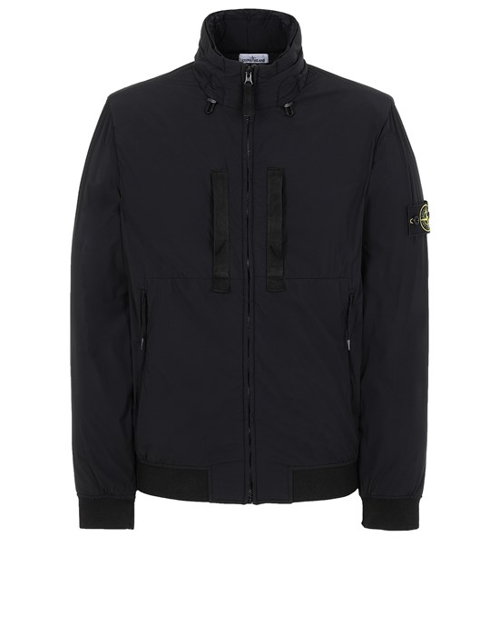 STONE ISLAND 42631 SKIN TOUCH NYLON-TC  Jacket Man Black