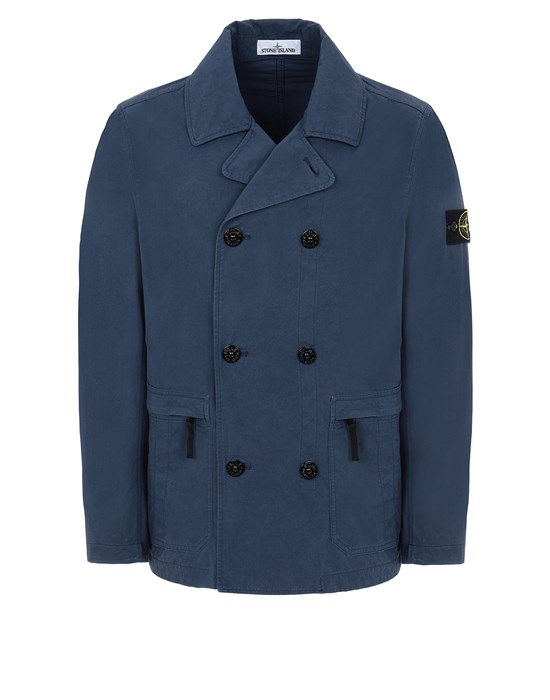 STONE ISLAND 41421 COTTON/CORDURA®  Jacket Man Avio Blue