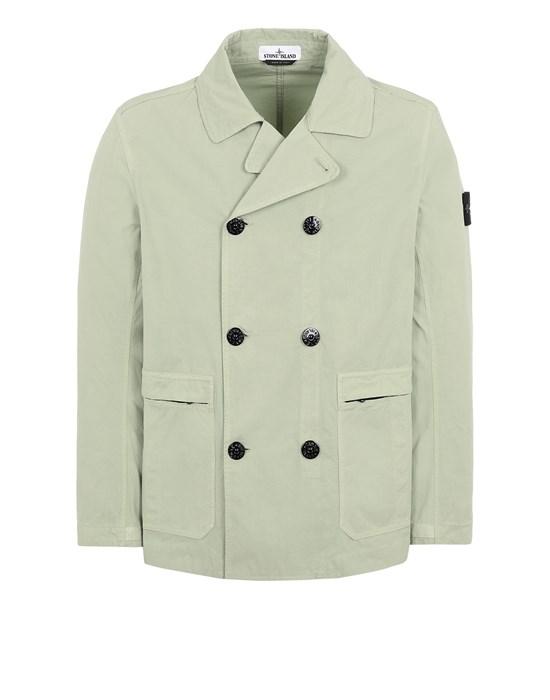 STONE ISLAND 41421 COTTON/CORDURA®  Jacket Man Light Green