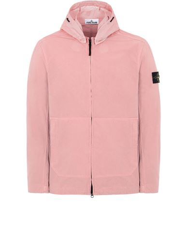 STONE ISLAND 41521 COTTON/CORDURA® Jacket Man Pink Quartz EUR 486