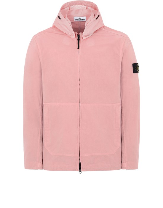 STONE ISLAND 41521 COTTON/CORDURA® Jacket Man Pink Quartz