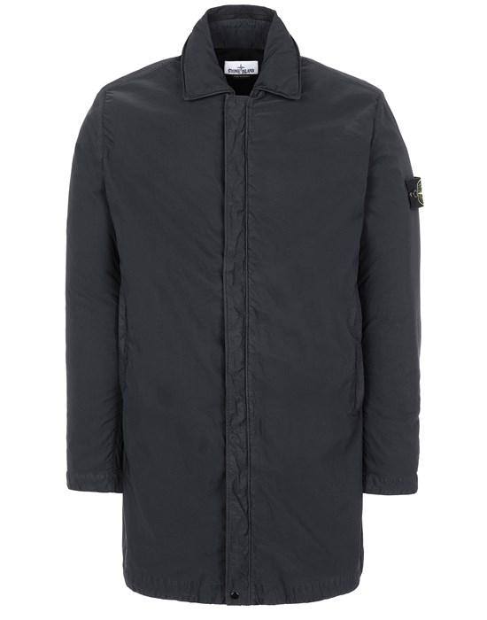 Mid-length jacket Man 43233 NYLON BATAVIA-TC Front STONE ISLAND