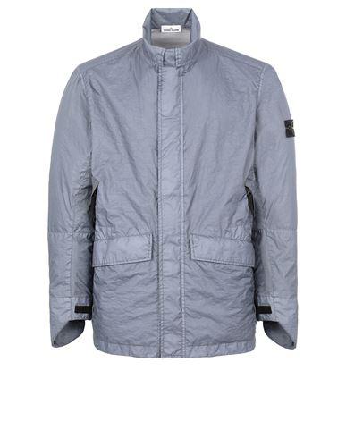 STONE ISLAND 40423 MEMBRANA 3L TC Jacket Man Pastel Blue EUR 547
