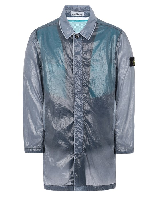 STONE ISLAND 70534 LUCIDO-TC_PACKABLE Mid-length jacket Man Avio Blue