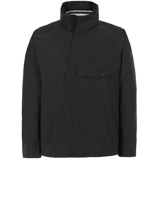 STONE ISLAND 443X1 STONE ISLAND MARINA<br>JACQUARD MARINA 3L  Jacket Man Black