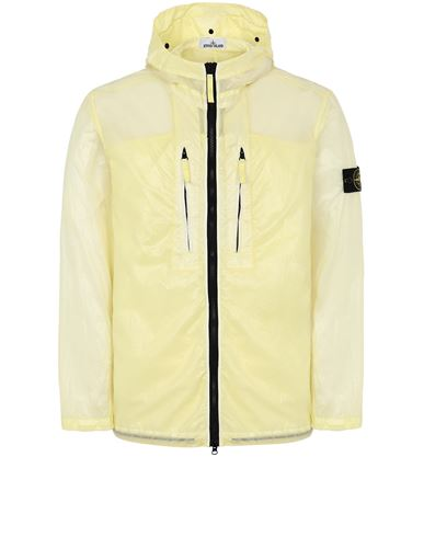 STONE ISLAND 43034 LUCIDO-TC_PACKABLE  VESTE REPLIABLE Homme Citron EUR 655