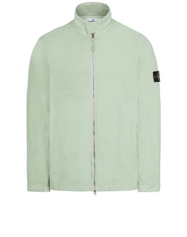 STONE ISLAND 43833 NYLON BATAVIA-TC Jacket Man Light Green EUR 454