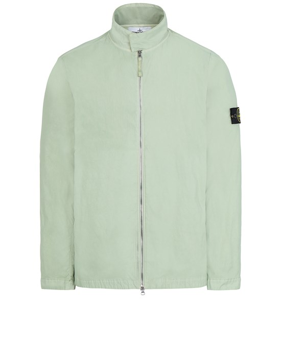 STONE ISLAND 43833 NYLON BATAVIA-TC  Jacket Man Light Green