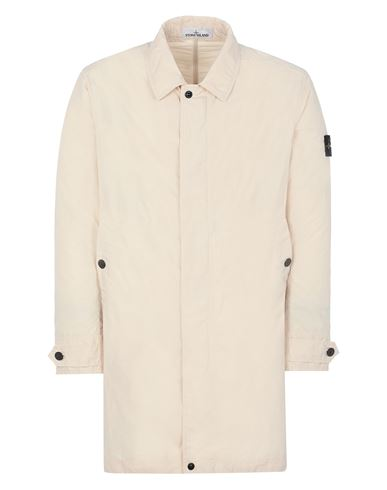 STONE ISLAND 70122 MICRO REPS  Mid-length jacket Man Ivory EUR 669