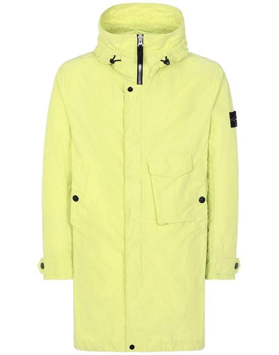 STONE ISLAND 70222 MICRO REPS  Mid-length jacket Man Pistachio Green