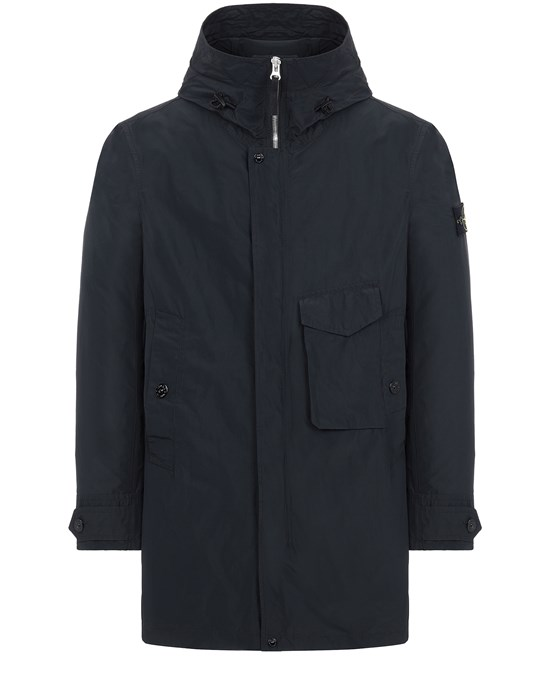 Mid-length jacket Man 70222 MICRO REPS Front STONE ISLAND