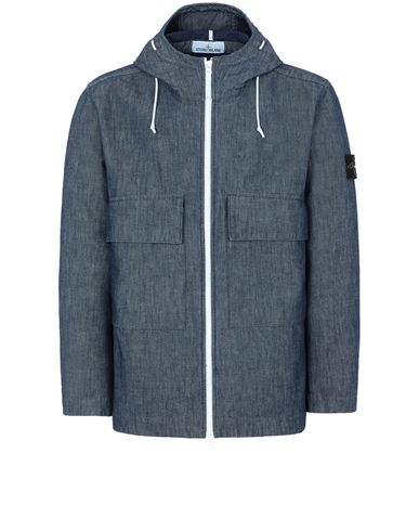 STONE ISLAND 43747 MAC CHAMBRAY 3L  Jacket Man Wash USD 1032