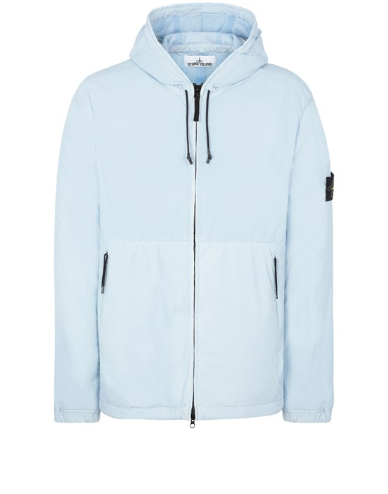 STONE ISLAND 42731 SKIN TOUCH NYLON-TC Jacket Man Sky Blue