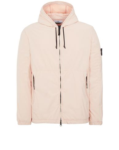 STONE ISLAND 42731 SKIN TOUCH NYLON-TC Jacket Man Pastel pink USD 553