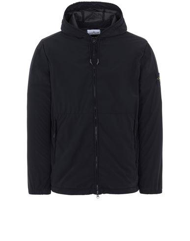 STONE ISLAND 42731 SKIN TOUCH NYLON-TC Jacket Man Black EUR 559
