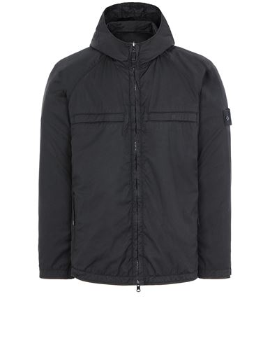 STONE ISLAND 441F1 GHOST PIECE_STRETCH WOOL NYLON<br>REVERSIBLE Jacket Man Black USD 1215