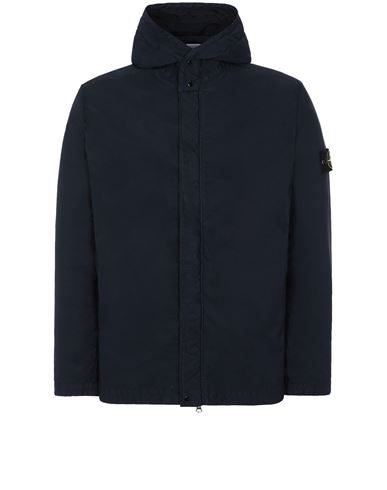 STONE ISLAND 43333 NYLON BATAVIA-TC Jacket Man Blue USD 565