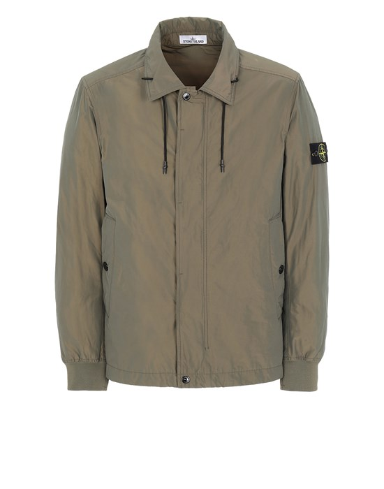STONE ISLAND 41022 MICRO REPS  Jacket Man Olive Green