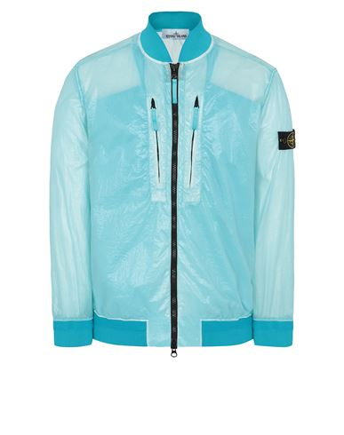 STONE ISLAND 43134 LUCIDO-TC_PACKABLE  PACKABLE JACKET Man Turquoise USD 634