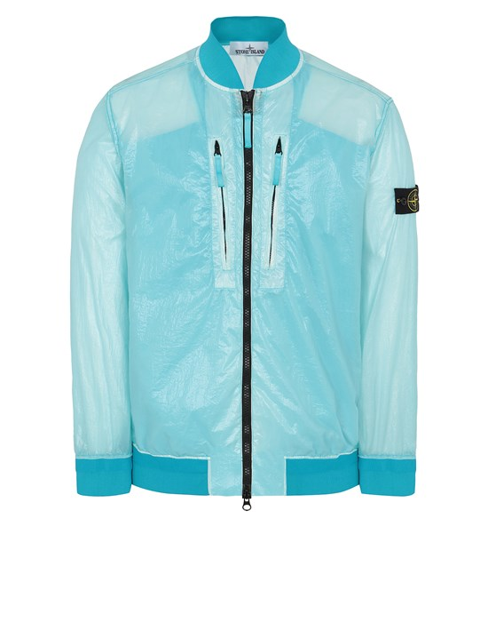 STONE ISLAND 43134 LUCIDO-TC_PACKABLE  PACKABLE JACKET Man Turquoise