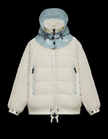 HOODED CARDIGAN White Grenoble Knitwear Woman