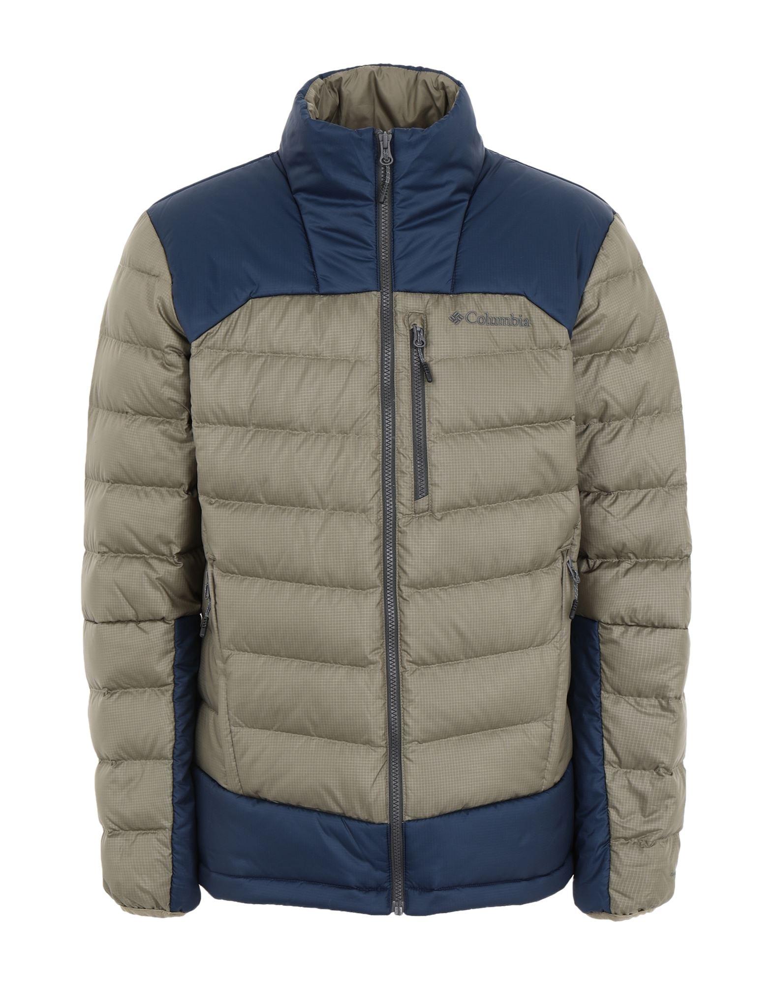 《セール開催中》COLUMBIA メンズ ダウンジャケット ミリタリーグリーン XL ポリエステル 100% Autumn Park Down Jacket