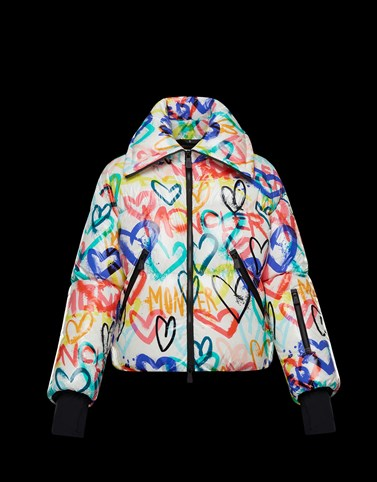 BELPEIT Multicolor Short Down Jackets Woman