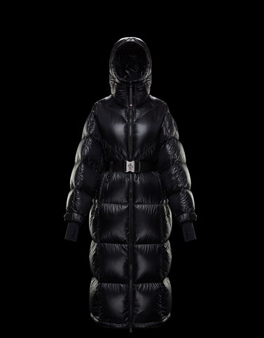 MANDRIOU Black Jackets & Parkas Woman