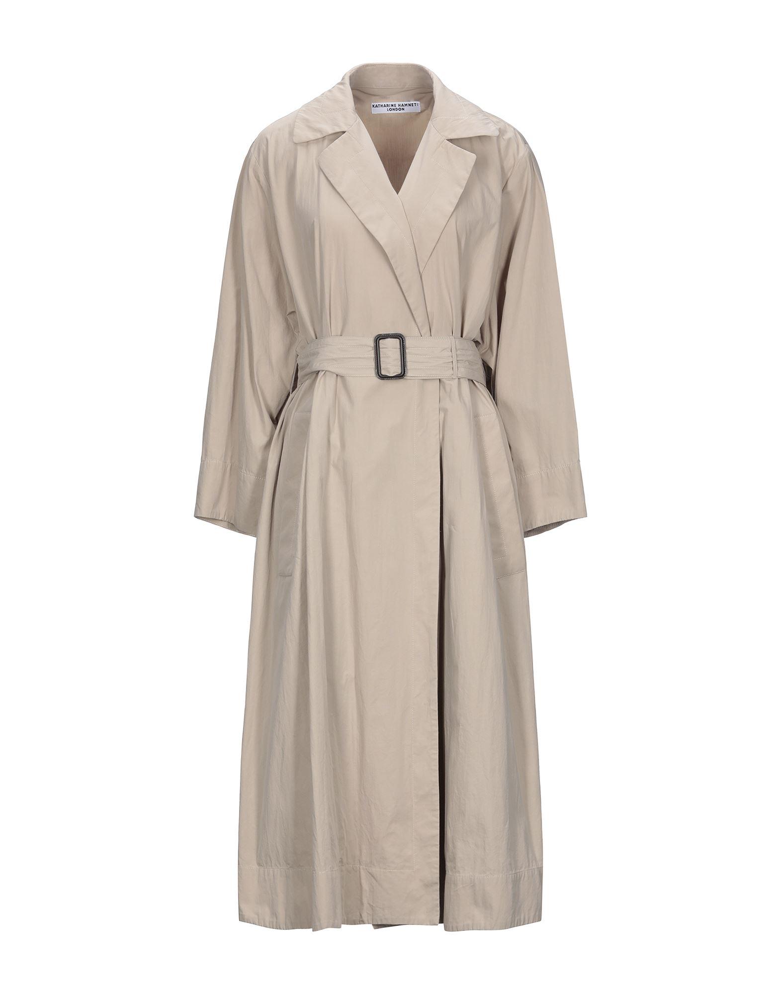 KATHARINE HAMNETT LONDON Легкое пальто goatee london легкое пальто