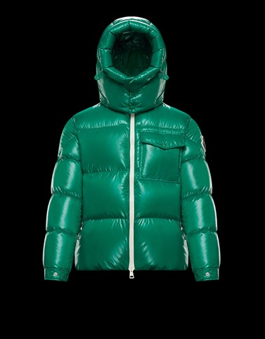 VIGNEMALE Green Down Jackets Man