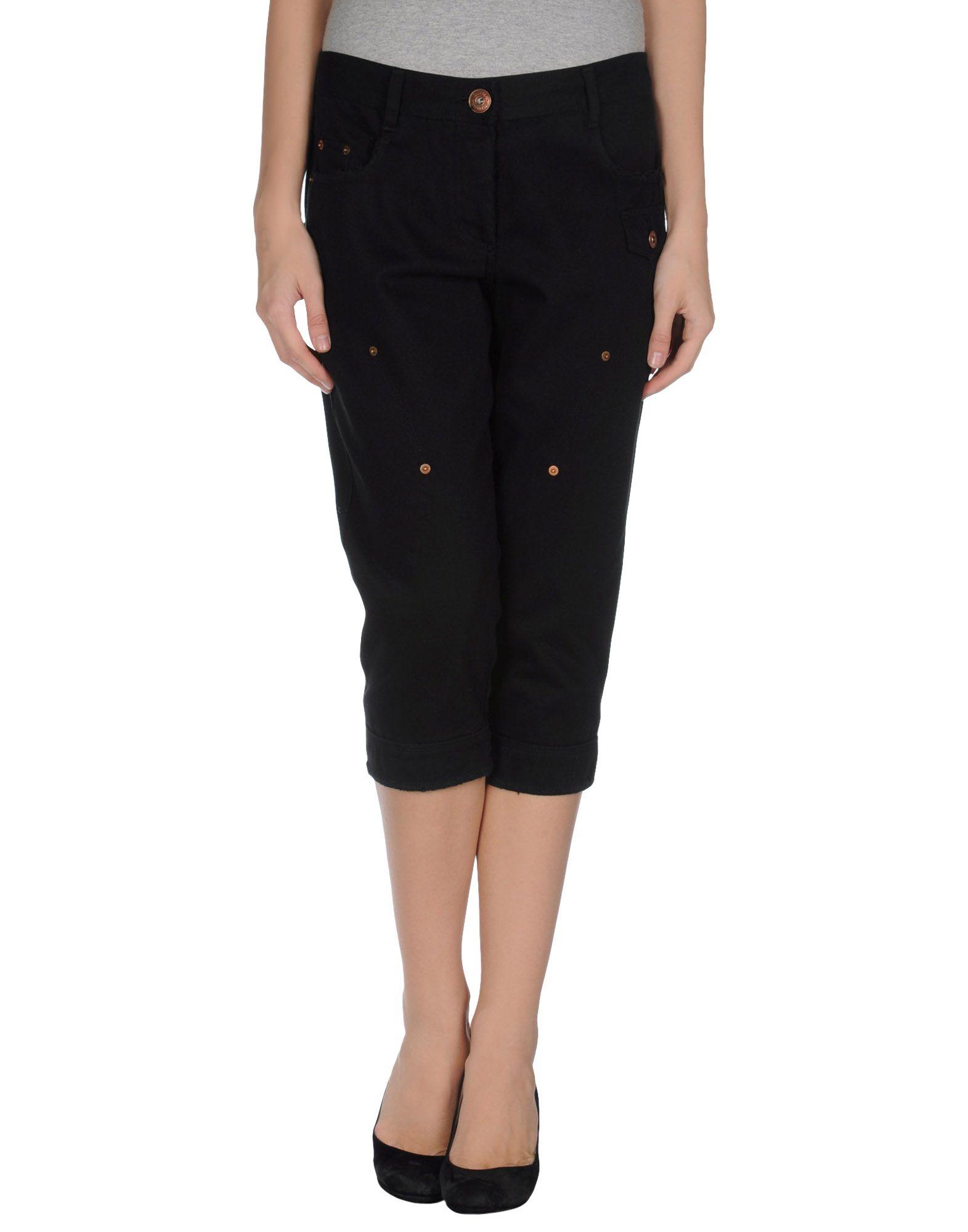 GAETANO NAVARRA Джинсовые брюки-капри