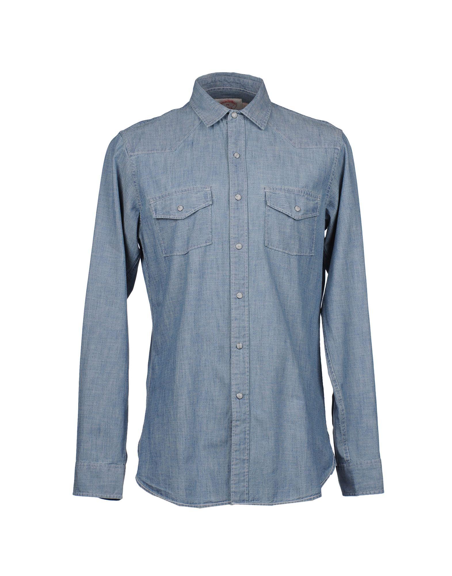 BROOKS BROTHERS Рубашка с длинными рукавами рубашка мужская brooks brothers 205q