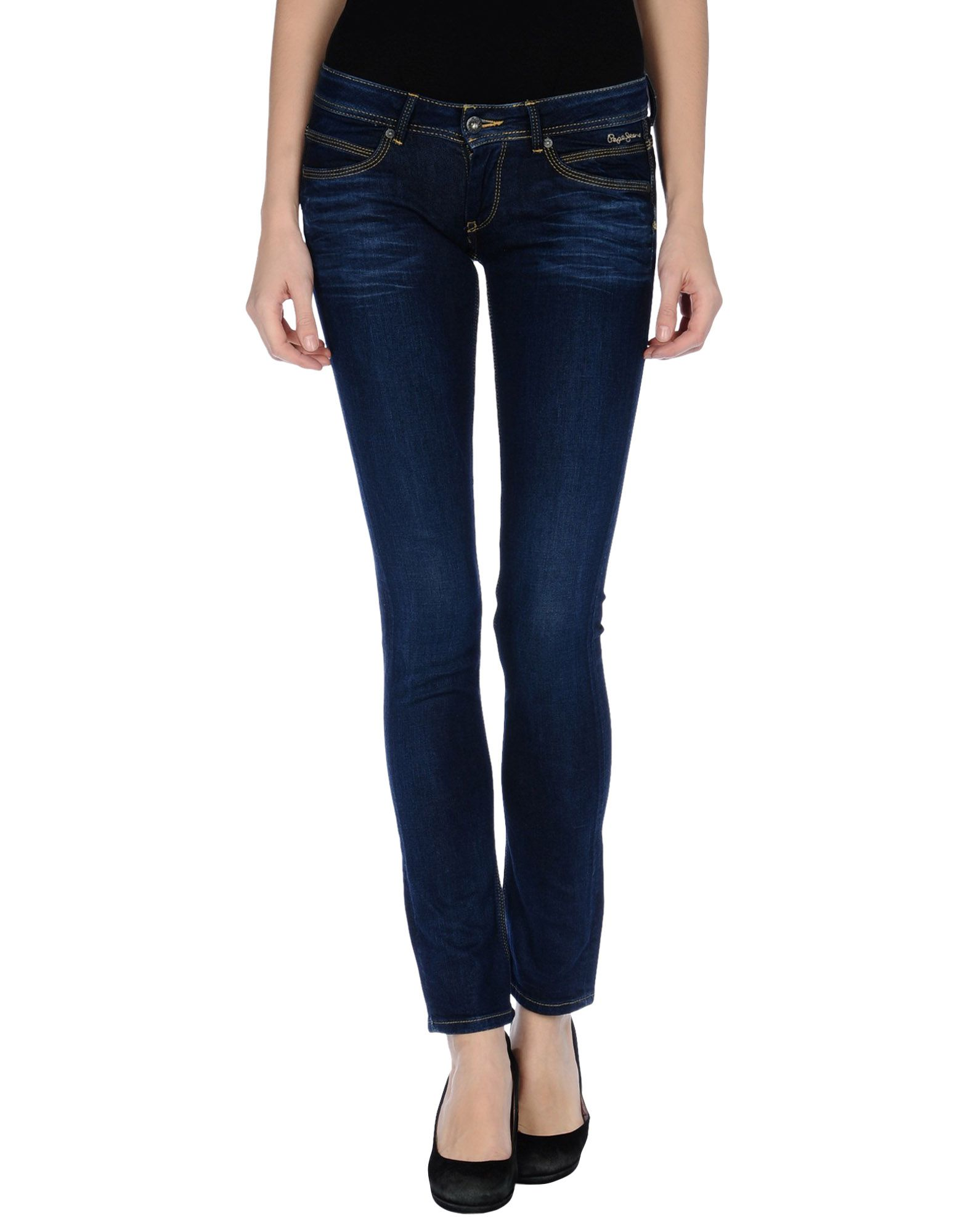 TRU-BLU by PEPE JEANS Джинсовые брюки цена 2017