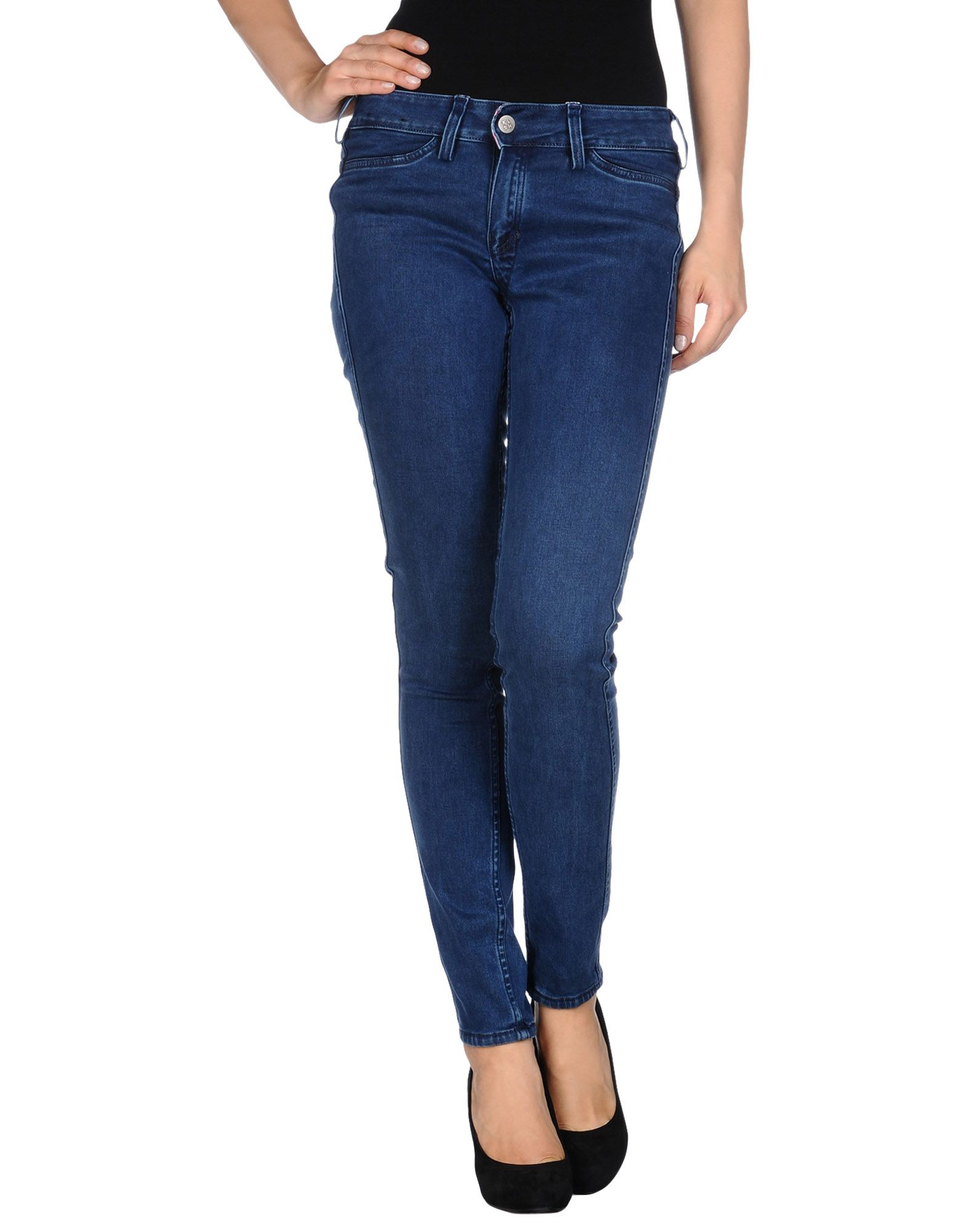 MELTIN POT KLSH Джинсовые брюки цена 2017